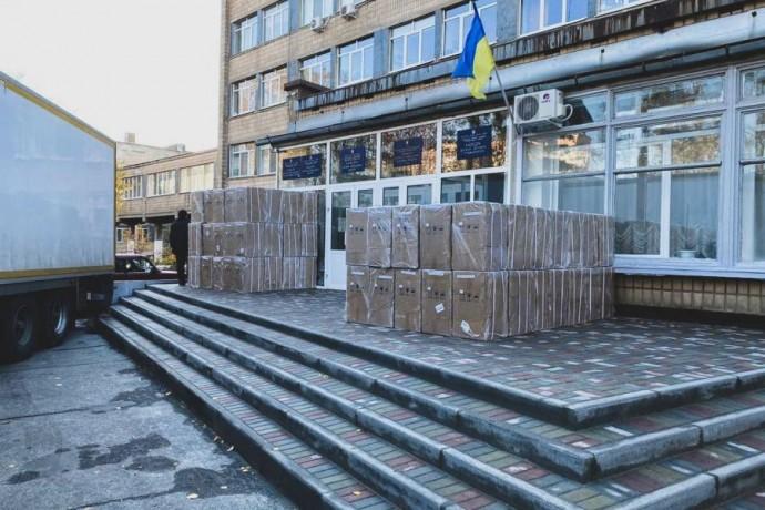 Харьковщина получила кислородные концентраторы, позволяющие обеспечить потребности более 600 пациент
