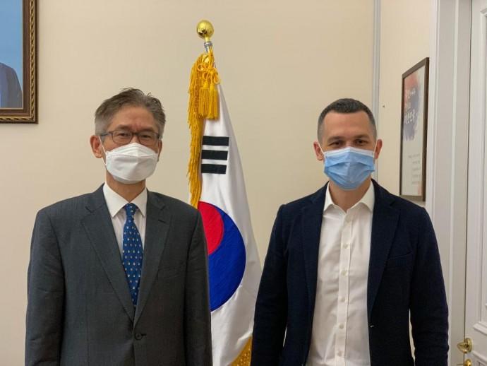 Глава ХОГА провел встречу с Послом Республики Корея в Украине
