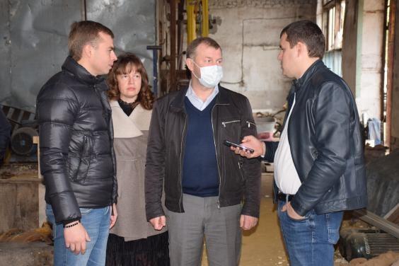 Руслан Тихонченко проверил работу теплового хозяйства города Купянска