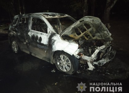 Поджог кандидатской машины: полиция начала расследование (ГУ НП)