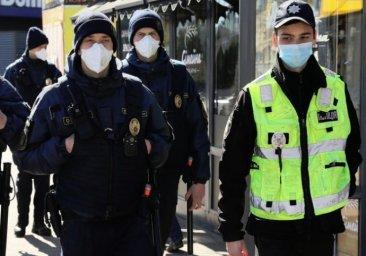 С 14 января начнут штрафовать за отсутствие масок