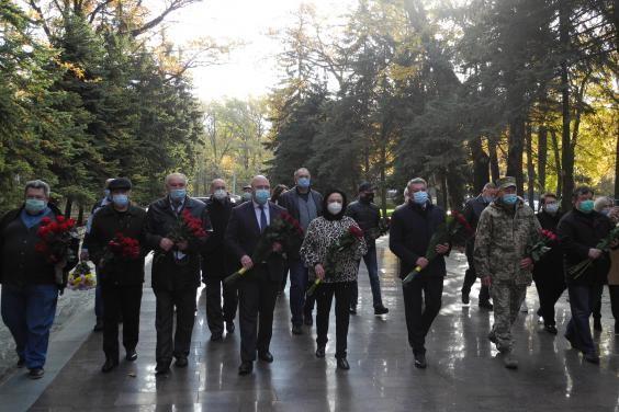 На Харьковщине отметили 76-ю годовщину со дня изгнания нацистов из Украины