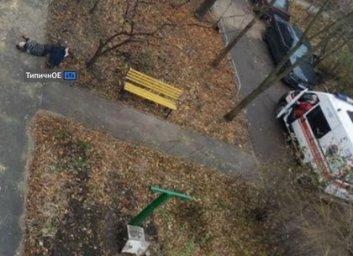 ЧП на ХТЗ: мужчина упал с крыши, разбился насмерть (Telegram)