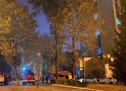 ВИДЕО, ФОТО: В областной больнице тушили пожар (Соцсети)