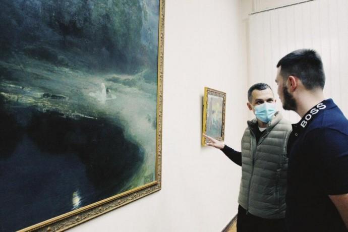 В Харькове открылась выставка работ художника, чье наследие в течение века считали утраченным