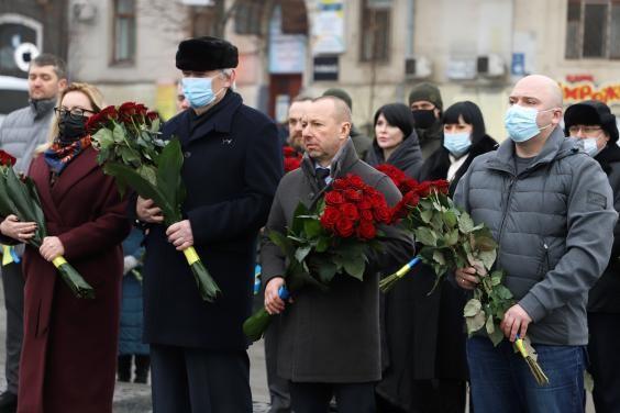 На Харьковщине прошли мероприятия ко Дню Соборности Украины