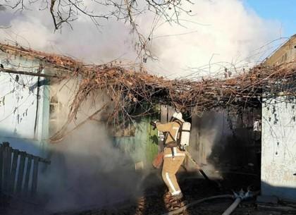 ФОТО: На пожаре обнаружено тело погибшего мужчины – ГСЧС