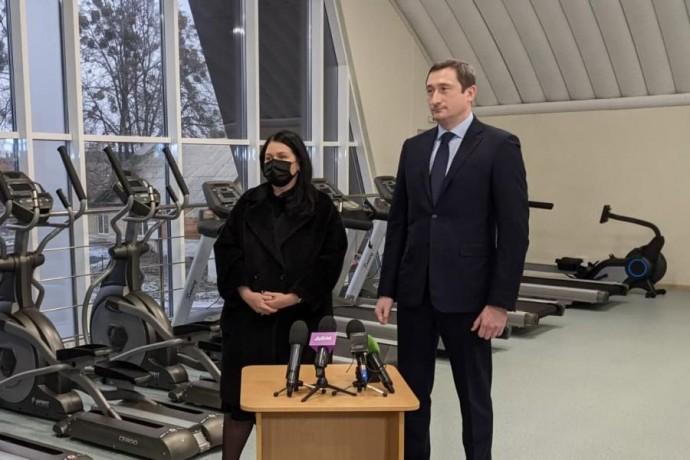 В Дергачах завершили строительство физкультурно-оздоровительного комплекса