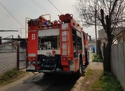 Короткое замыкание оставило жителей харковского пригорода без пристройки (ФОТО)