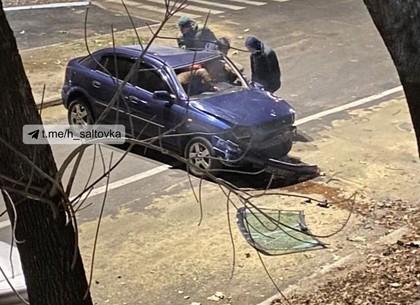 ФОТО: ДТП в центре Харькова: водителя вырезали из покореженного автомобиля (ГСЧС)