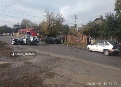 ФотоФакт: жесткое тройное ДТП превратило машины в автохлам (Telegram)
