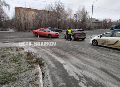 ФОТО. ДТП: шоссе не поделили легковушки - Telegram