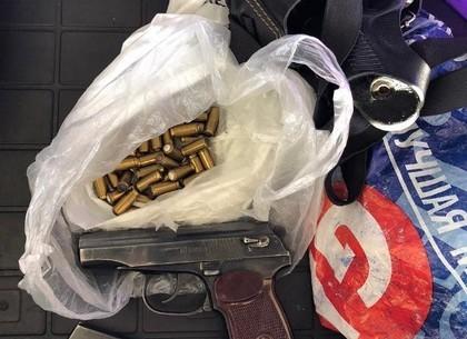ФОТО: На Гоптовке обнаружили россиянина с оружием (Госпогранслужба)