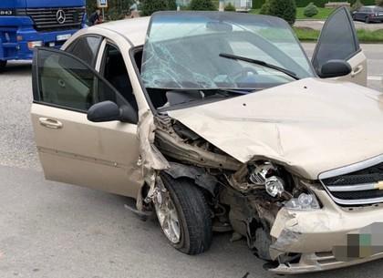 ДТП: жесткая авария у поста патрульных (ФОТО)