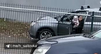 ДТП: наездница с ребенком врезалась в грузовик (Telegram)