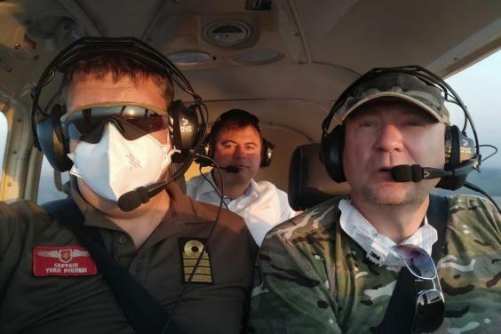 Алексей Кучер поблагодарил Гражданский воздушный патруль за помощь в выявлении очагов пожаров в обла
