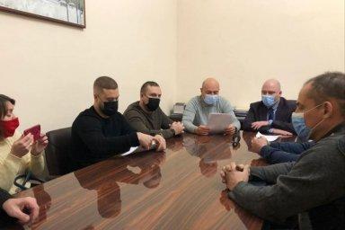 В Харьковской ОГА состоялась встреча с инициативной группой по работе «Коксохима»