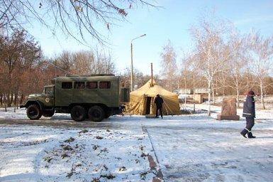 В пункты обогрева, открытые на Харьковщине, пока не обращались за помощью