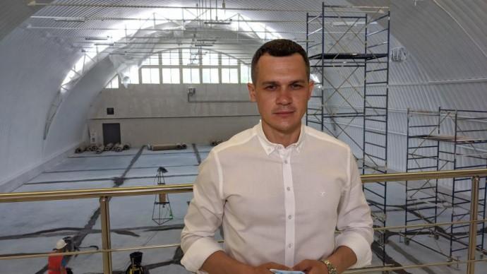 На строительстве Краснокутского ФОКа выполнили 75% работ