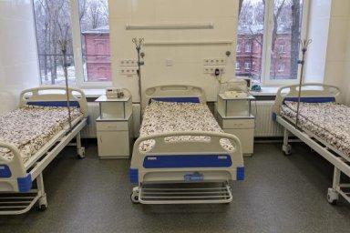 На стационарном лечении в опорных учреждениях области находятся 1422 пациента