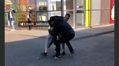 На Салтовке задержаны два подозрительных персонажа (Telegram)