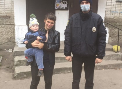 Пропавшую мать с двухлетним ребенком нашли в соседней области (Богодуховский ОП)