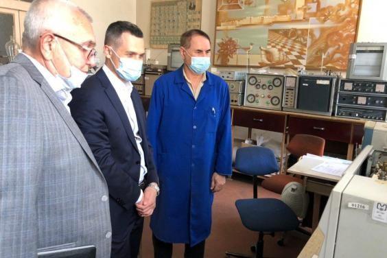 Председатель ХОГА посетил ГП «Украинский государственный научно-исследовательский углехимический инс