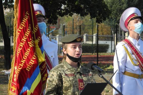 225 курсантов Кадетского корпуса получили погоны военного учебного заведения