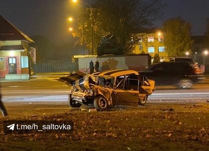 ДТП: жуткое столкновение на Полтавском Шляхе (Telegram)