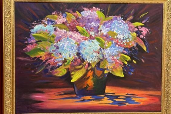 В Харькове открылась выставка художника-чернобыльца