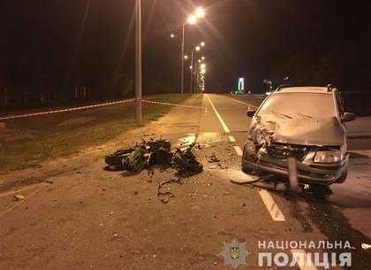 ДТП на Белгородском шоссе: мотоциклист умер в больнице (ВИДЕО, ФОТО)