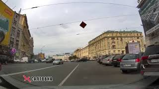 ДТП: торпедирована иномарка в центре города - запись момента аварии (ВИДЕО)
