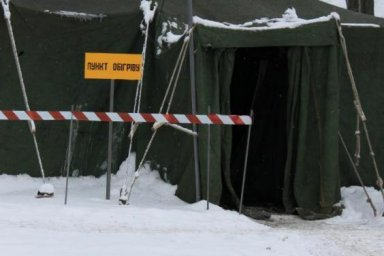 На Харьковщине функционирует 450 пунктов обогрева