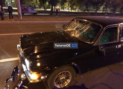ФОТО: ДТП на Коммунальной: мотоциклист пострадал в столкновении с «Волгой» (Telegram)