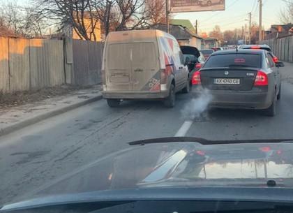 ДТП: авария легковушек перекрыла движение (Telegram)