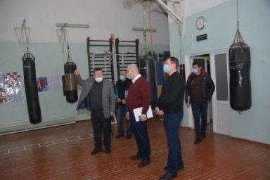 Евгений Грицков посетил Школу высшего спортивного мастерства