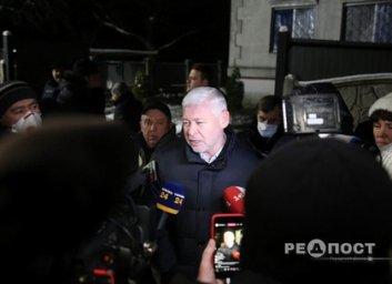 Игорь Терехов выехал на место пожара в частном доме для престарелых