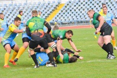 Украинские регбисты в Харькове выиграли у литовцев