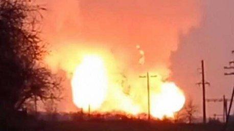 Взрыв на газопроводе в Лубнах: подробности
