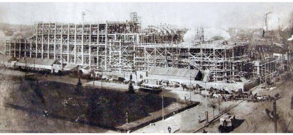 Строительство почтампа в Харькове