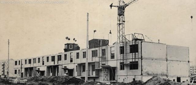 Строительство дома 144 по ул. Байрона (Героев Сталинграда)