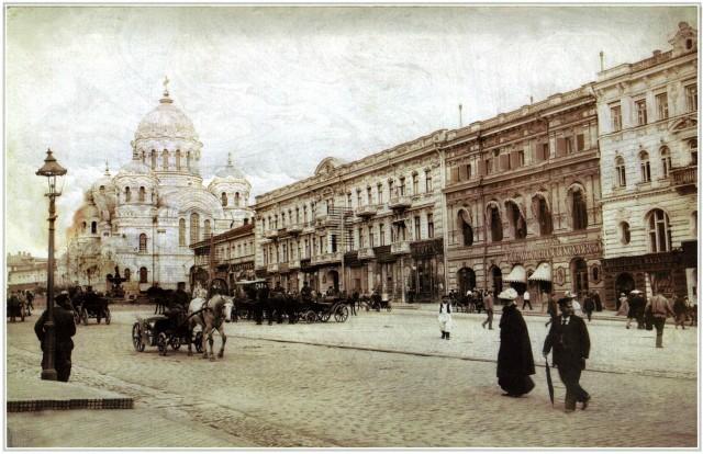Николаевская площадь и собор Святого Николая