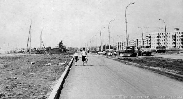 ул. Байрона (пр. Героев Сталинграда) в 1967 году