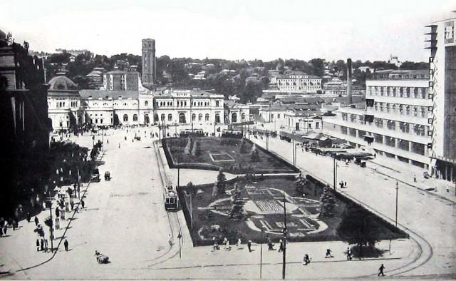 Площадь Привокзальная (фото из архива)