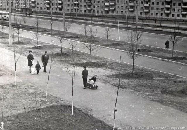 ул. Байрона (пр. Героев Сталинграда) в 1969-1970